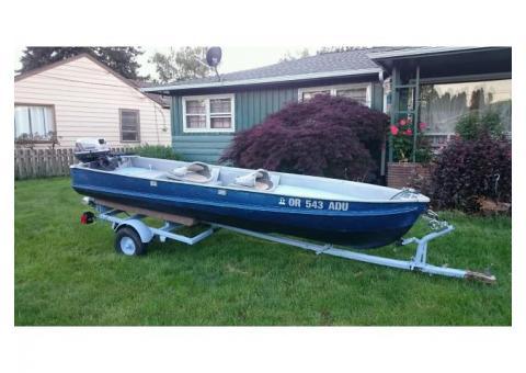 Fishing and crabbing boat